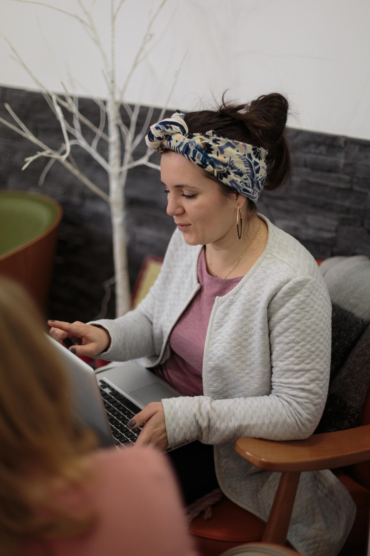 Manon Smahi Cuzin, facilitatrice de projets professionnels au féminin
