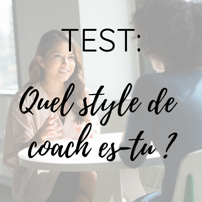 Test quel type de coach es-tu ?