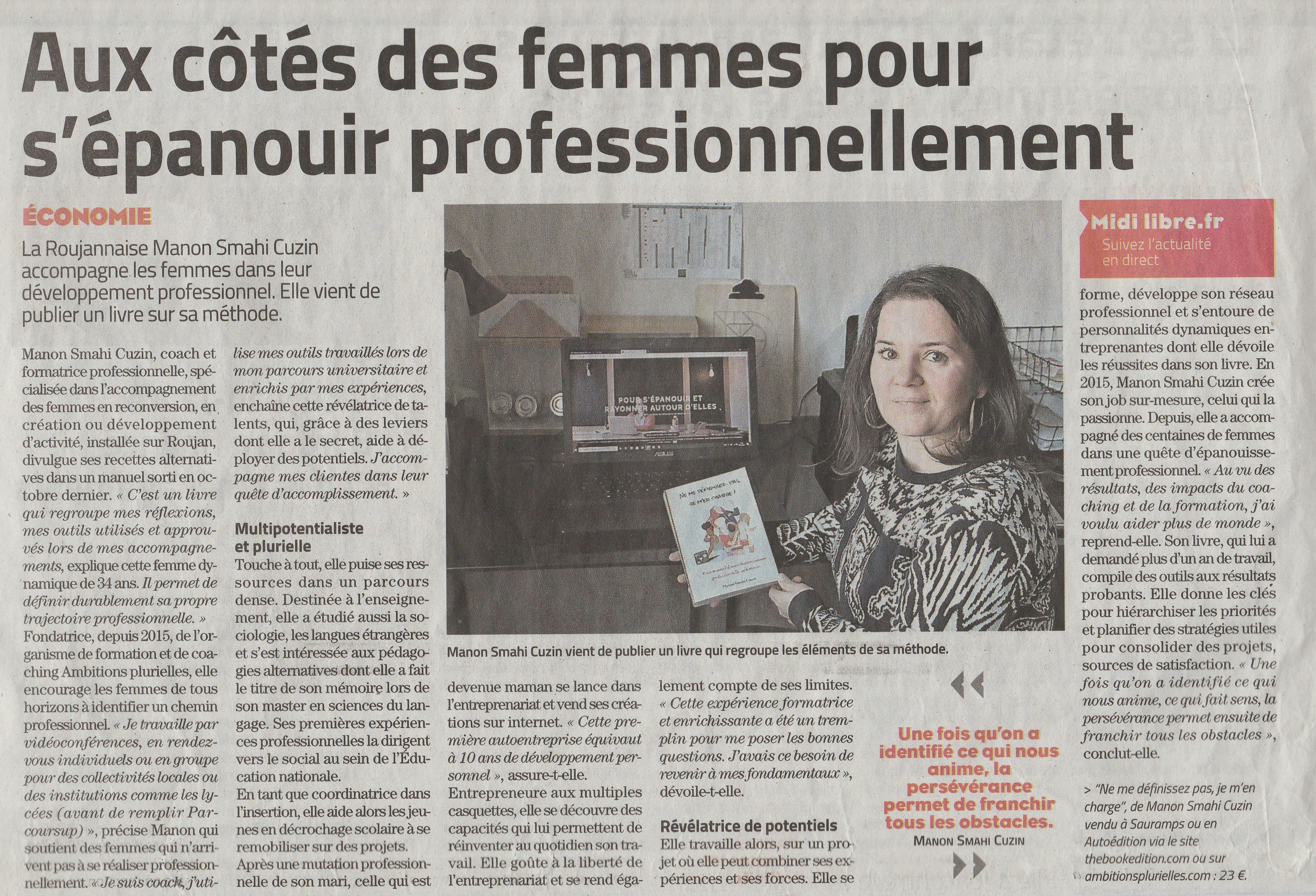 Du côté des femmes pour s'épanouir professionnellement