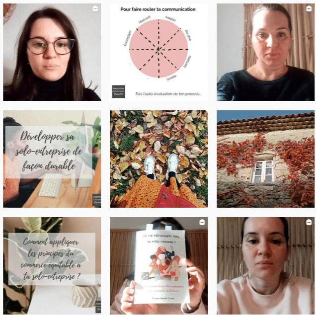 instagram Ambitions Plurielles - inspirations solo-entrepreneures